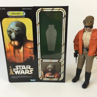"Custom Vintage Star Wars 12"" Walrus Man box and inserts"
