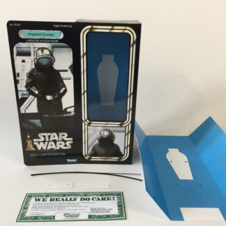 "Custom Vintage Star Wars 12"" Imperial Gunner box and inserts"