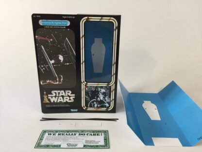 "Custom Vintage Star Wars 12"" Tie Fighter Pilot box and inserts"
