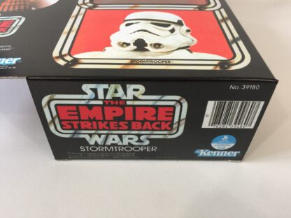 "Reproduction Vintage Star Wars The Empire Strikes Back 12"" Prototype Stormtrooper box and inserts"