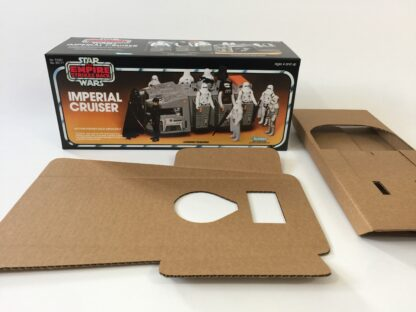 Replacement Vintage Star Wars The Empire Strikes Back Imperial Cruiser box and inserts