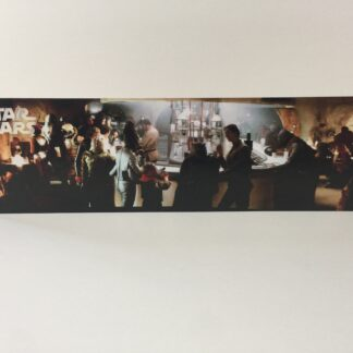 Custom Vintage Star Wars Mos Eisley Cantina Bar display backdrop diorama scene B for use with grey or stand alone
