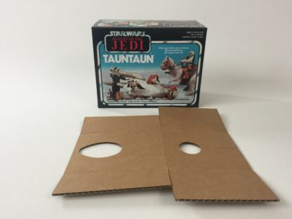 Replacement Vintage Star Wars The Return Of The Jedi Tauntaun box and inserts