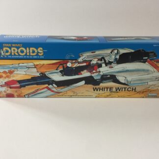 Reproduction Vintage Star Wars custom Prototype Droids White Witch box