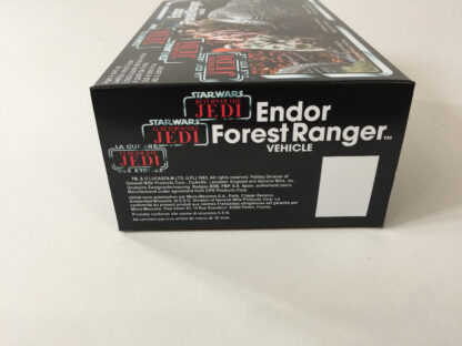Replacement Vintage Star Wars The Return Of The Jedi Tri-Logo Endor Forest Ranger box and inserts