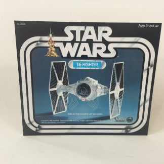 Vintage Star Wars Tie Fighter box front only