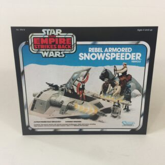 Vintage Star Wars The Empire Strikes Back Snow Speeder box front only