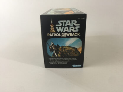 Replacement Vintage Star Wars Collector Series Dewback box and inserts