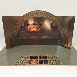 Jabba The Hutt Palace backdrop for diorama display