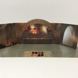Jabba The Hutt Palace backdrop for diorama display large