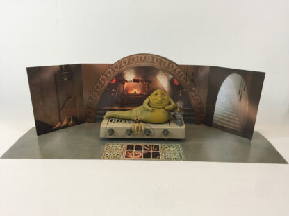 Custom vintage star wars Jabba The Hutt Palace backdrop for diorama display  large