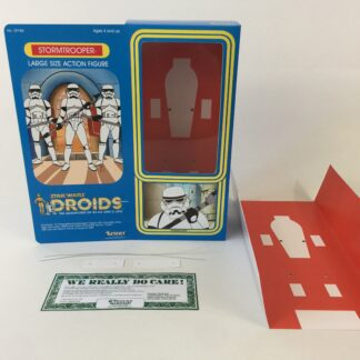 "Custom Vintage Star Wars Droids 12"" Stormtrooper box and inserts"