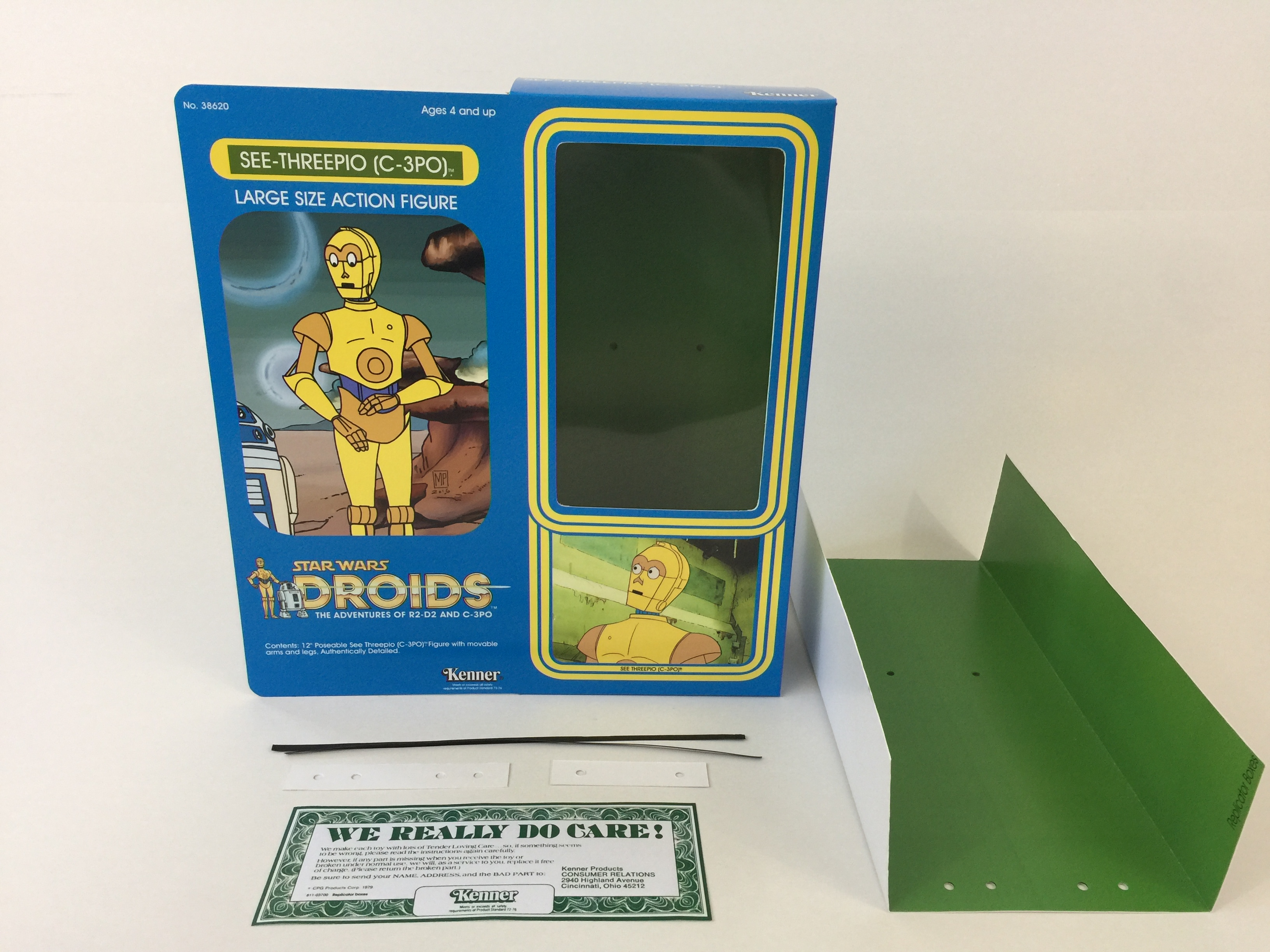 Action- & Spielfiguren vintage star wars droids custom shelf talkers 24 long toys are here