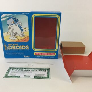 "Custom Vintage The Star Wars Droids 12"" R2-D2 box and inserts"