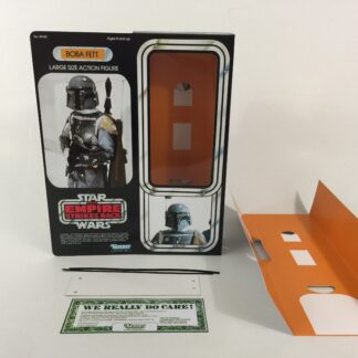"Custom Vintage Star Wars The Empire Strikes Back 12"" Boba Fett box and inserts"