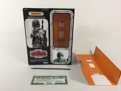 "Custom Vintage Star Wars The Empire Strikes Back 12"" Boba Fett box and inserts"