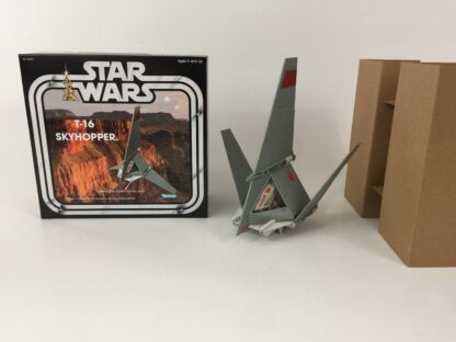 Custom Vintage Star Wars T-16 Skyhopper box and inserts