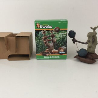 Custom Vintage Star Wars Ewoks Animated Cartoon Bola Bomber box and inserts