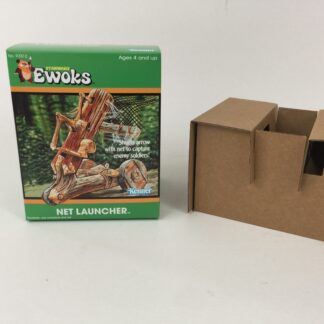 Custom Vintage Star Wars Ewoks Animated Cartoon Net Launcher box and inserts