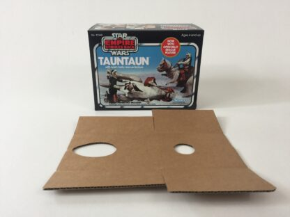 Replacement Vintage Star Wars The Empipre Strikes Back Kenner Open Belly Tauntaun box and inserts