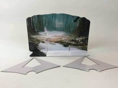Custom Vintage Star Wars The Empire Strikes Back Dagobah scene 1 backdrop and supports