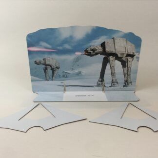 Custom Vintage Star Wars The Empire Strikes Back AT-AT scene 2 backdrop and supports