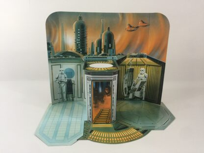 "Custom Vintage Star Wars The Empire Strikes Back 6"" Black Series Rescaled Cloud City backdrop for diorama display"