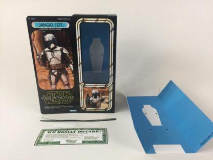 "Custom Vintage Star Wars 12"" Attack Of The Clones Jango Fett box and inserts"