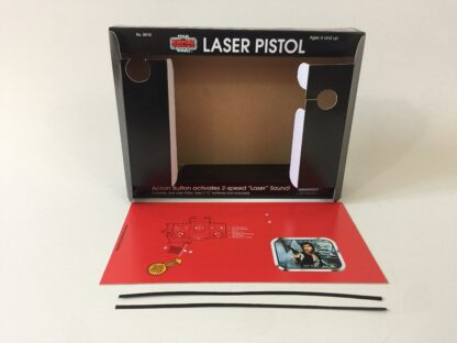 Replacement Vintage Star Wars The Empire Strikes Back Han Solo Laser Blaster box and inserts