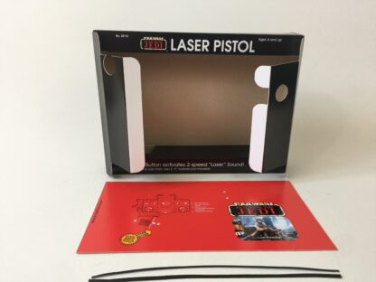 Replacement Vintage Star Wars The Return Of The Jedi Luke Skywalker Laser Blaster box and inserts