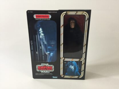 "Custom Vintage Star Wars The Empire strikes Back 12"" Emperor Palpatine box and inserts"