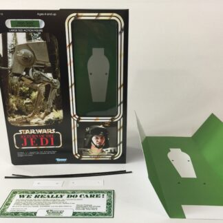 "Custom Vintage Star Wars The Empire strikes Back 12"" Han Solo AT-ST Driver Disguise box and inserts"
