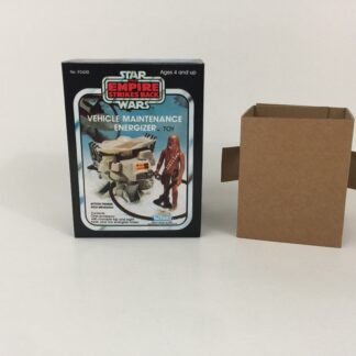 Replacement Vintage Star Wars The Empire Strikes Back Vehicle Maintenance Energizer mini rig box and inserts