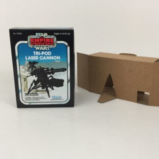 Replacement Vintage Star Wars The Empire Strikes Back Tri-Pod Laser Cannon mini rig box and inserts