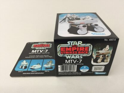 Replacement Vintage Star Wars The Empire Strikes Back MTV-7 mini rig box and inserts