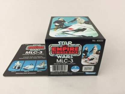 Replacement Vintage Star Wars The Empire Strikes Back MLC-3 mini rig box and inserts