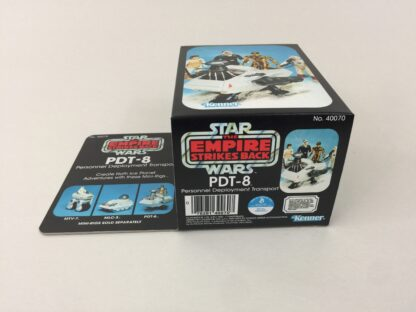 Replacement Vintage Star Wars The Empire Strikes Back PDT-8 mini rig box and inserts 3-back