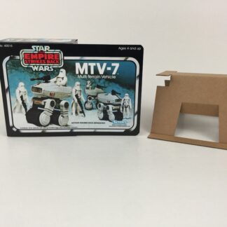 Replacement Vintage Star Wars The Empire Strikes Back MTV-7 mini rig box and inserts 3-back 5-back