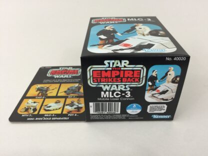 Replacement Vintage Star Wars The Empire Strikes Back MLC-3 mini rig box and inserts 5-back