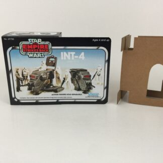 Replacement Vintage Star Wars The Empire Strikes Back INT-4 mini rig box and inserts 5-back