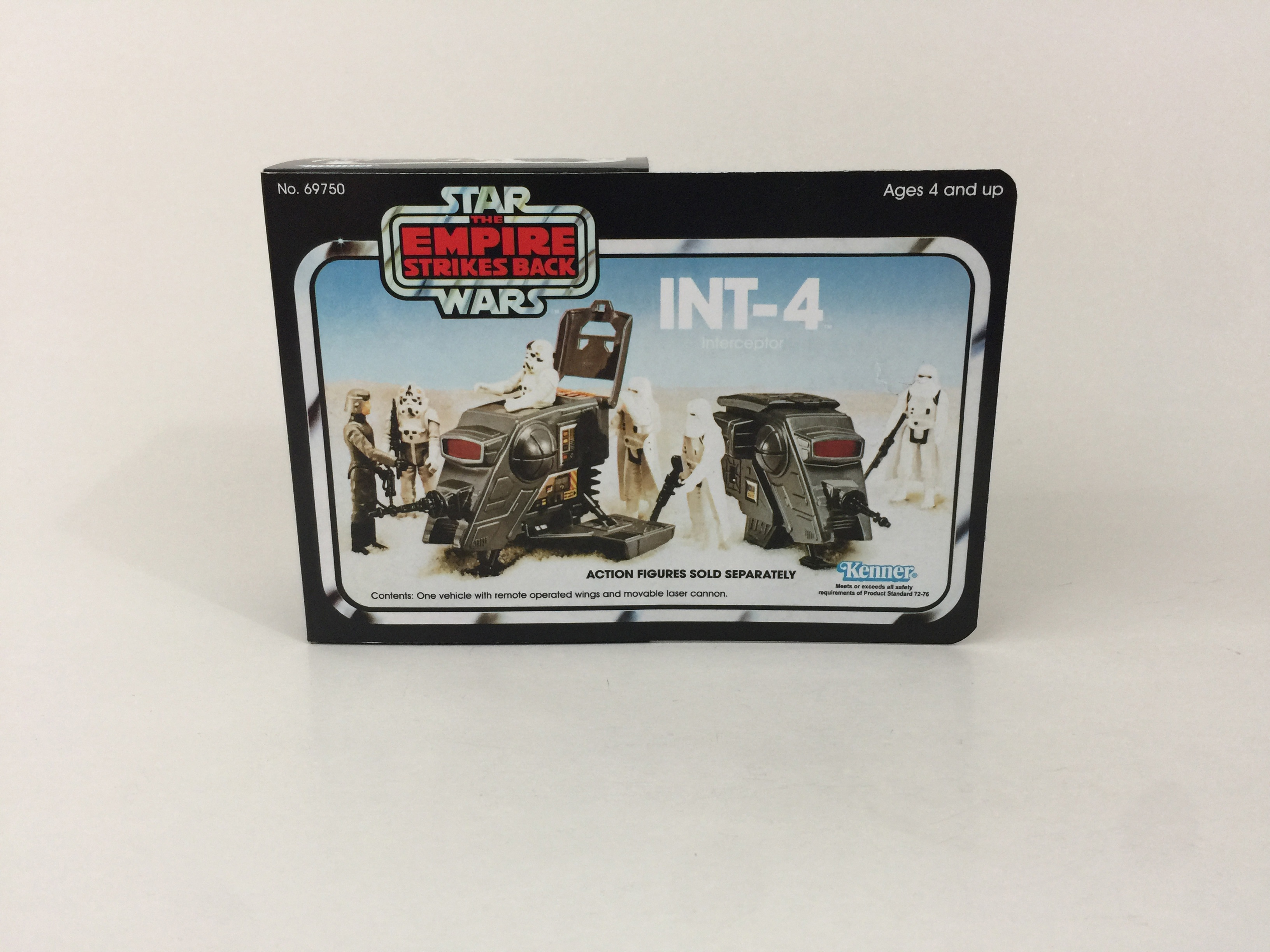 Vintage Replacement Star Wars Vintage Int-4  Mini Rig  Stickers Labels