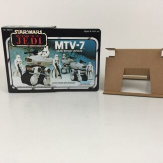 Reproduction Vintage Star Wars Revenge Of The Jedi MTV-7 mini rig box and inserts