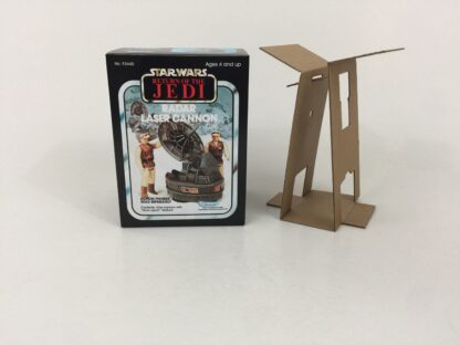 Replacement Vintage Star Wars The Return Of The Jedi Radar Laser Cannon mini rig box and inserts