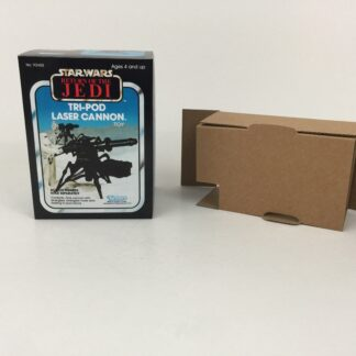Replacement Vintage Star Wars The Return Of The Jedi Tri-Pod Laser Cannon mini rig box and inserts