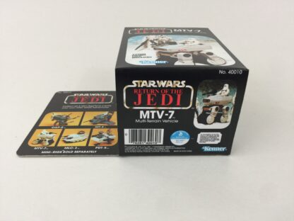 Replacement Vintage Star Wars The Return Of The Jedi MTV-7 mini rig box and inserts
