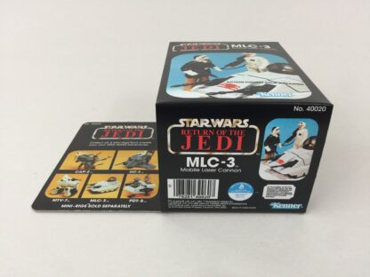 Reproduction Vintage Star Wars Revenge Of The Jedi MLC-3 mini rig box and inserts
