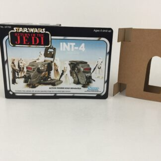 Replacement Vintage Star Wars The Return Of The Jedi INT-4 mini rig box and inserts