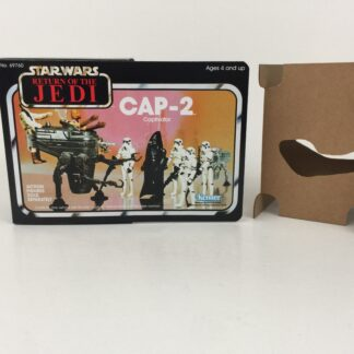 Replacement Vintage Star Wars The Return Of The Jedi CAP-2 mini rig box and inserts