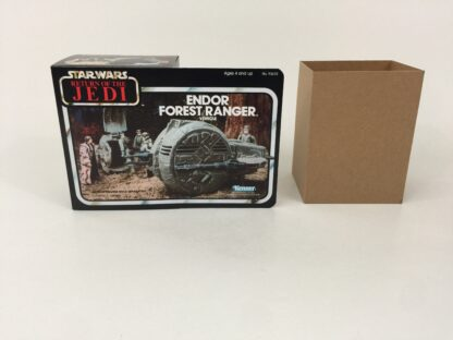 Replacement Vintage Star Wars The Return Of The Jedi Endor Forest Ranger mini rig box and inserts