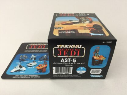Replacement Vintage Star Wars The Return Of The Jedi AST-5 mini rig box and inserts